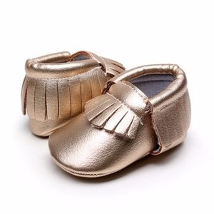 Other - New matte gold baby soft sole toddler moccasins